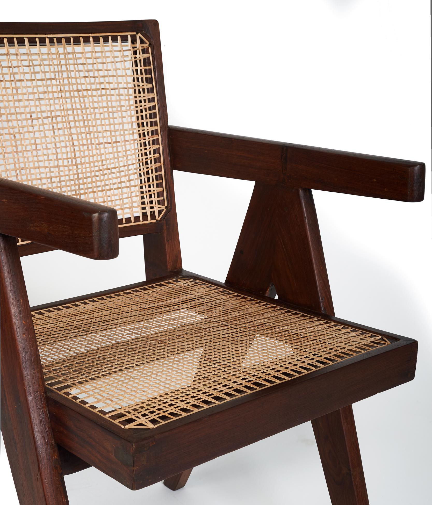 Chandigarh Office Chair By Pierre Jeanneret Vivamus